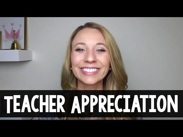 Teacher Appreciation Gift Ideas   A Classroom Diva