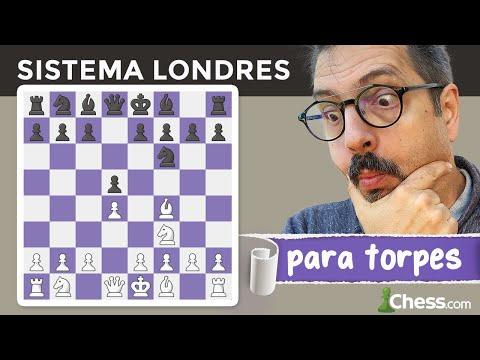 El SISTEMA LONDRES para TORPES   Aperturas de ajedrez para dummies