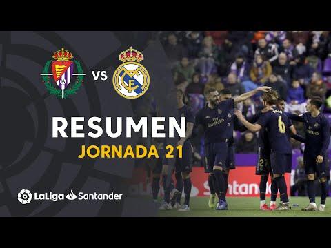 Resumen de Real Valladolid vs Real Madrid (0-1)