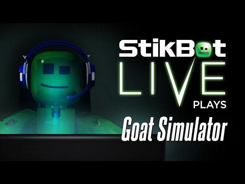 Stikbot LIVE | Goat Simulator
