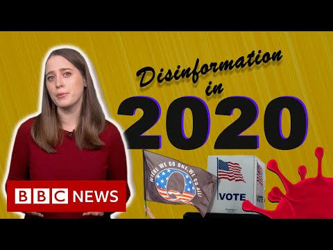 How bad information went viral in 2020 - BBC News