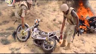 بالفيديو..الجيش «يدك» معاقل الإرهاب بالمدفعية والطائرات في اليوم الخامس بـ «حق الشهيد».. والإرهاب يلفظ أنفاسه الأخيرة