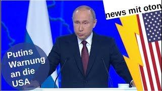 Putins Warnung an die USA