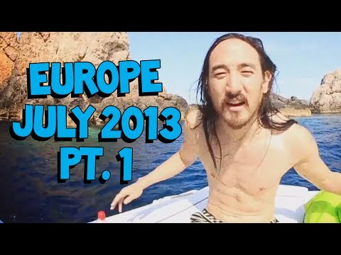Crazy Europe Tour July 2013 (ft. Knife Party, Zedd, and more!) - On The Road w/ Steve Aoki #79