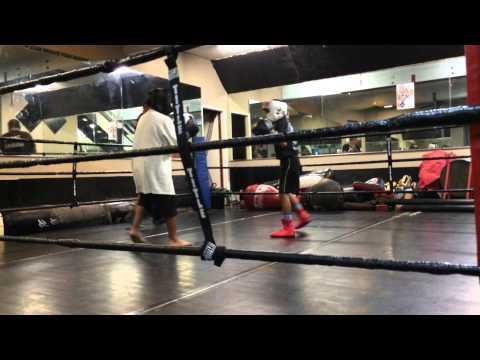 Ej & Danniel sparring-central Maui boxing club