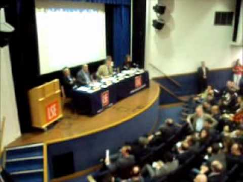 IMF caught off guard, unable to answer questions about Greek economy at LSE event, London