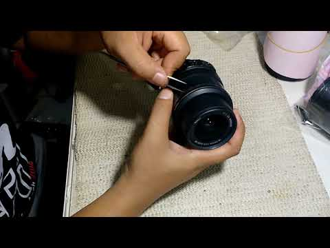 Cara Buka Lensa 18-55 Nikon Bagian Depan