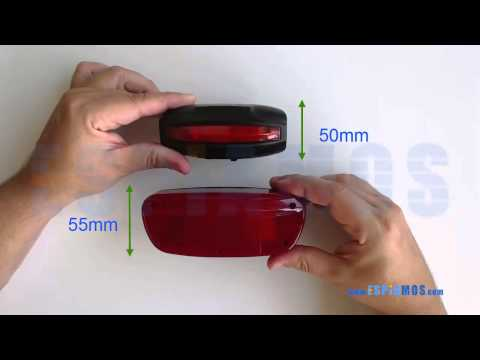 Localizador GPS para bicicletas con leds de posicion K18 video