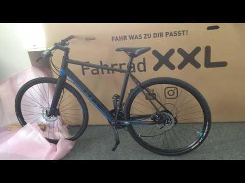 Fahrrad Xxl Unboxing Cube Sl Road 2018 Youtube