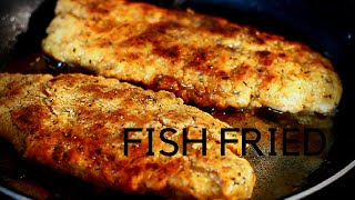 The World's Best Fried Fish Recipe How To Fry Fried Fish in Pot