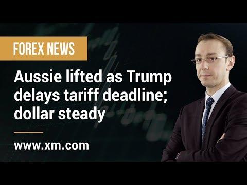 Forex News: 25/02/2019 - Aussie lifted as Trump delays tariff deadline; dollar steady