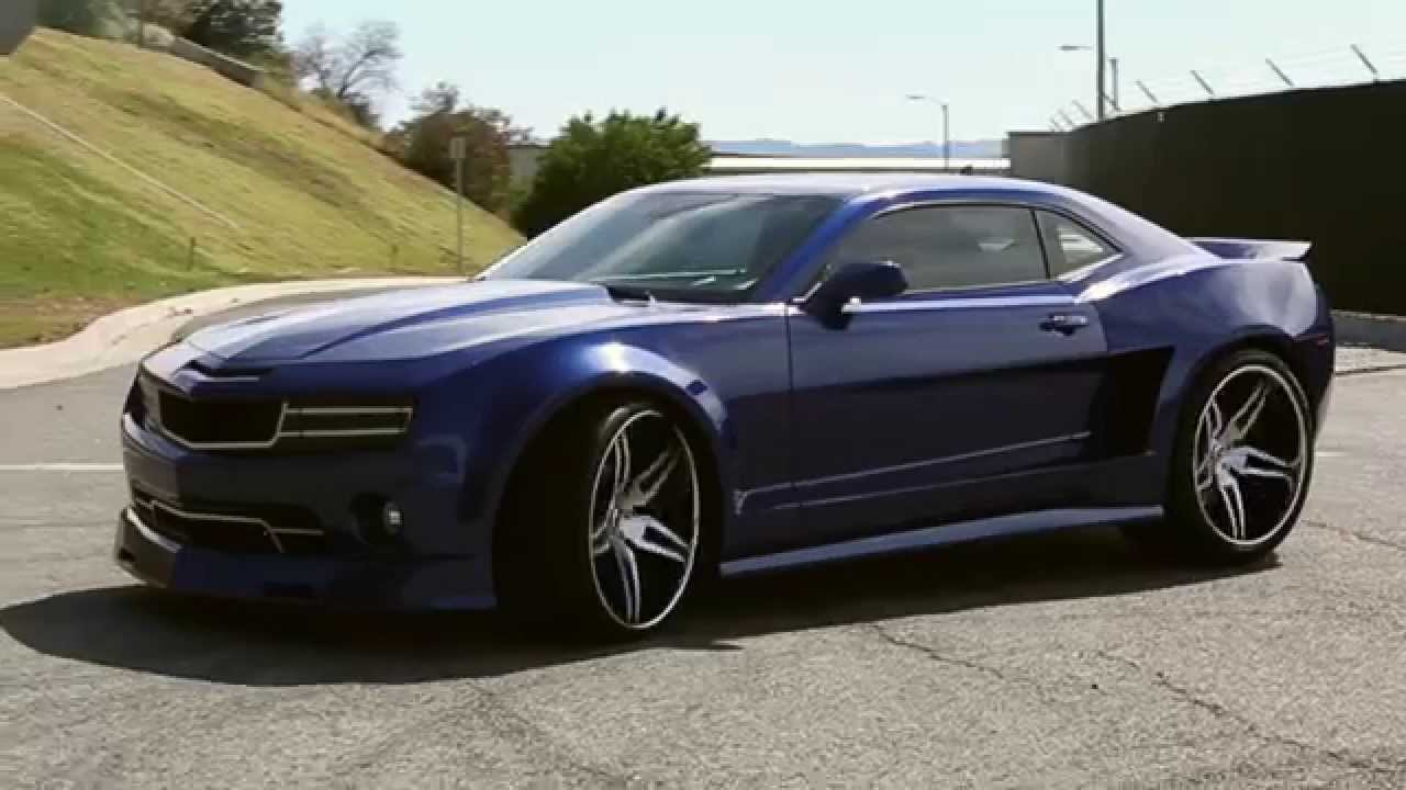 Forgiato Widebody Camaro Youtube