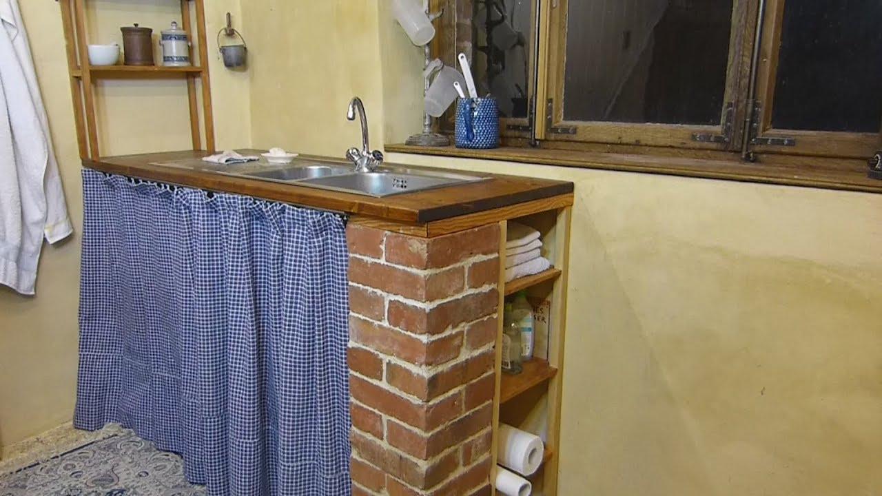 Bevorzugt Selbstbau Unterschrank Spüle, Aussteiger Küche, urushi-Oberfläche GF61