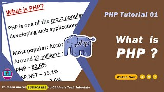 PHP video tutorial 01 - What is PHP ?