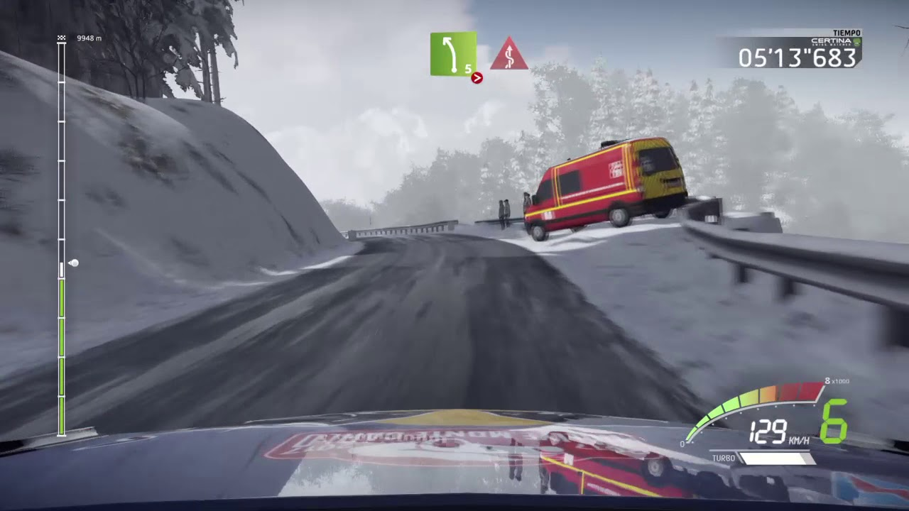 wrc 7 game rally montecarlo 2018 test epic stage ps4 ogier onboard ford fiesta wrc testing youtube. Black Bedroom Furniture Sets. Home Design Ideas