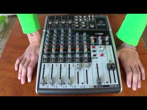Обзор Behringer XENYX 1204USB. Видео 2: функционал и ощущения