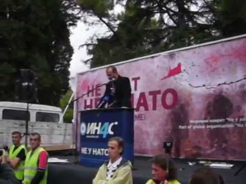 NE u NATO - Ne mojom voljom- Podgorica 14. 10. 2015 g