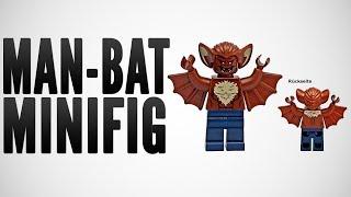 2014 LEGO Super Heroes - Man Bat Minifig