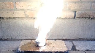 Oxidizing Power of Chromium Trioxide: Violent Oxidation of Ethanol