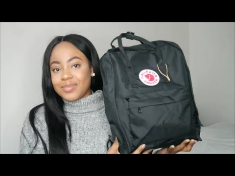 whats in my kanken uni edition fjallraven kanken. Black Bedroom Furniture Sets. Home Design Ideas