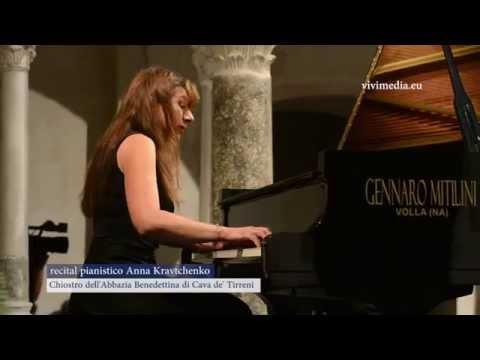 Recital pianistico di Anna Kravtchenko