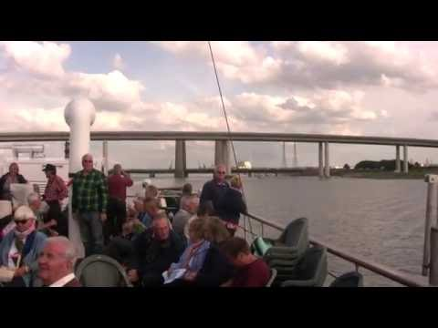 MV Balmoral 27 6 2016 Pt  4 The Swale Channel around the Isle Of Sheppey