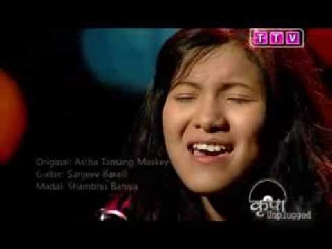Khula Aakash (Cover) - Chrisma Abigail - KRIPA UNPLUGGED JUNIOR