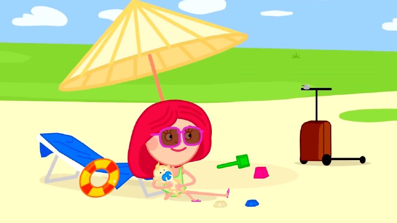 Смарта и Чудо-сумка - Большой сборник летних серий 🌻☀️🏞️🌴  - Сборник развивающих мультиков