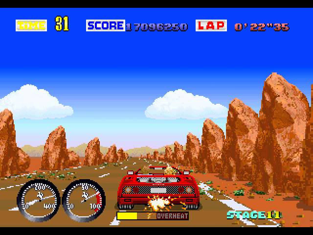 Turbo OutRun Longplay (Arcade) [60 FPS]