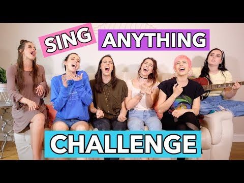 SING ANYTHING #2: ONE DIRECTION, ARIANA GRANDE, DEMI LOVATO & TAYLOR SWIFT