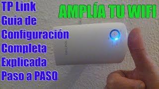 Tp Link Tl Wa850re Cómo Configurar Extensor De Cobertura Tp Link Extender Repetidor Wifi Youtube