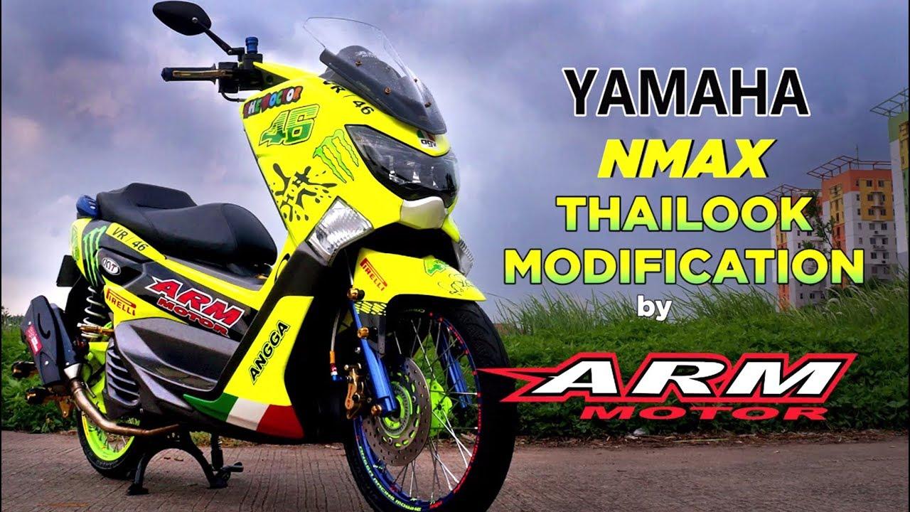 Koleksi Gambar Modifikasi Yamaha Nmax Thailook