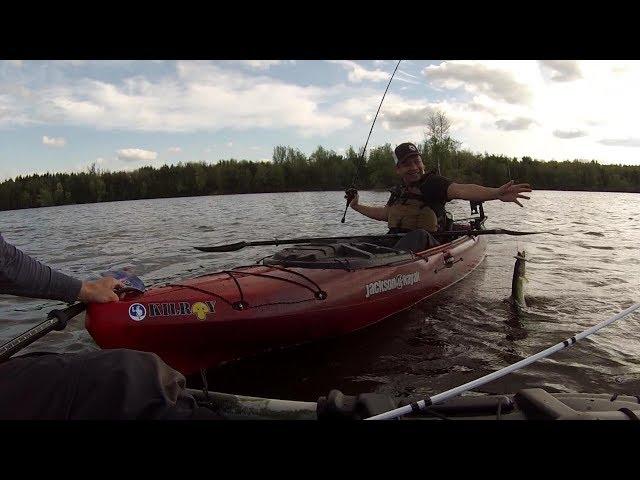 Kayak Fishing for the First Time  Mountsberg Reservoir
