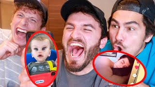 REACTING TO THE FUNNIEST TIKTOKS!!