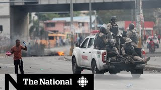 Many people in Haiti are bracing for violent protests across the co...