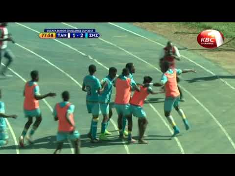 Zanzibar beats Tanzania 2 goals to 1 in their second match of the 2017 CECAFA, senior challenge cup
