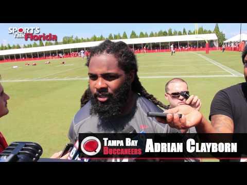 Bucs Training Camp Adrian Clayborn