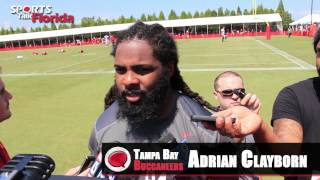 Bucs Training Camp Adrian Clayborn