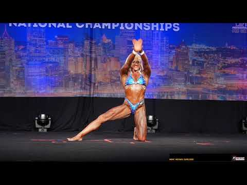 2019 NPC Teen Collegiate & Masters Nationals Women's Bodybuilding Posing Routines Pt.2