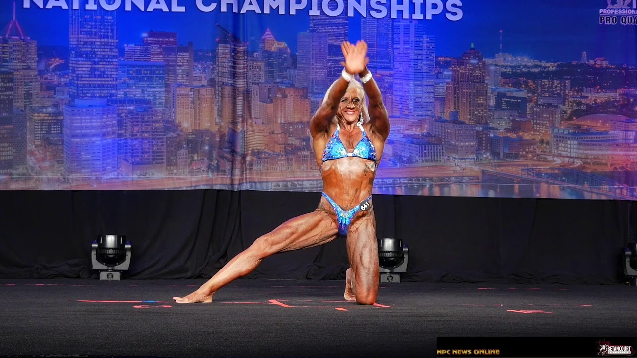 2019 NPC Teen Collegiate & Masters Nationals Women's Bodybuilding Posing  Routines Pt 2 by NPCNewsOnline