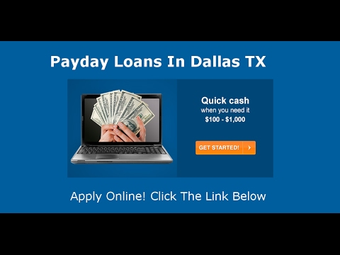 Payday Loans Dallas, TX | Online Cash Advance