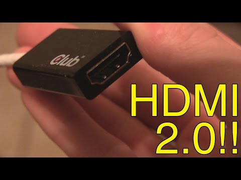 Club3D Displayport 1.2 to HDMI 2.0 adapter review - CAC-1070