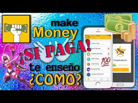 Como ganar $$$ con Make Money y no MORIR en el intento   COMPROBANTE de pago   APP #7