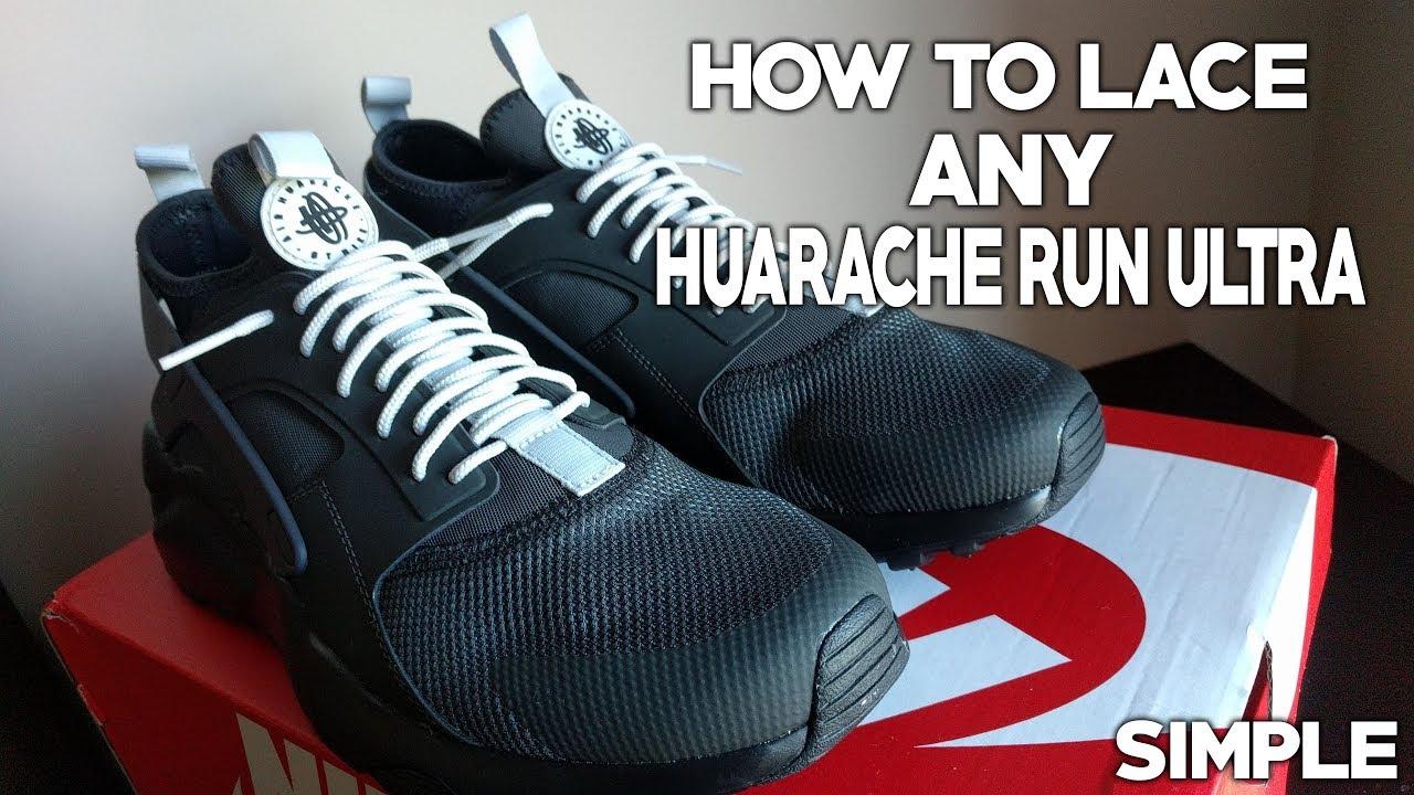 huarache shoe lace style