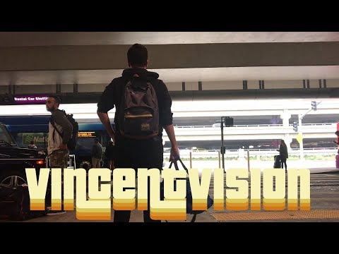 STRANDED AT LAX (THE ROAD TO UNIVERSAL HOLLYWOOD)   VincentVision
