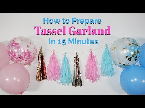 How to Prepare Tassel Garland 🎀 In Less Than 10 Minutes