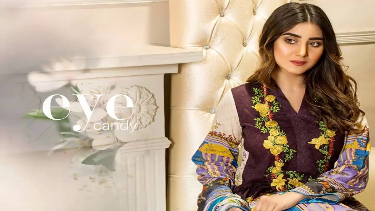 545b7914ba Banafsheh Exclusive Lawn Summer Collection 2019 - YouTube
