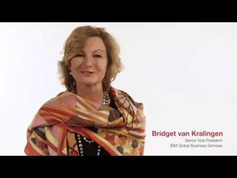 Flourish on the Edge of the Market: Bridget van Kralingen (IBM) introduces the C-suite Study