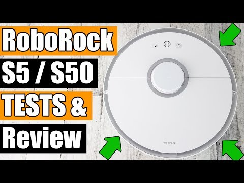 Roborock S5 / S50 Review and TESTS - Xiaomi Robot Vacuum