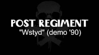 post regiment - wstyd (demo